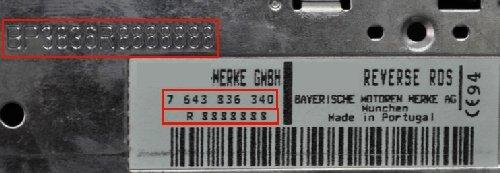 Auto Radio Key Code Blaupunkt